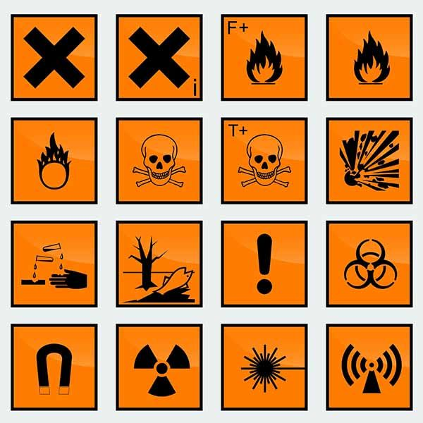 Fichas de datos de seguridad (FDS) - Desplegable