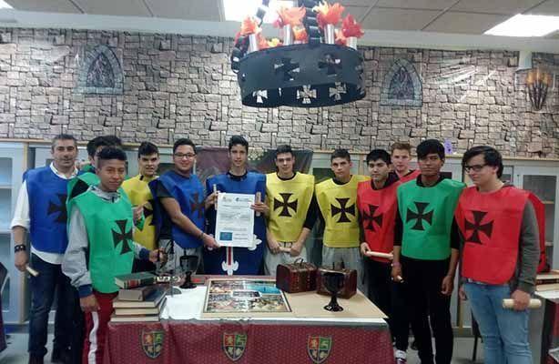 Un juego forma a los alumnos del colegio Pico Frentes en riesgos laborales