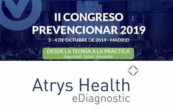 Atrys Health patrocinador del II Congreso Prevencionar 2019