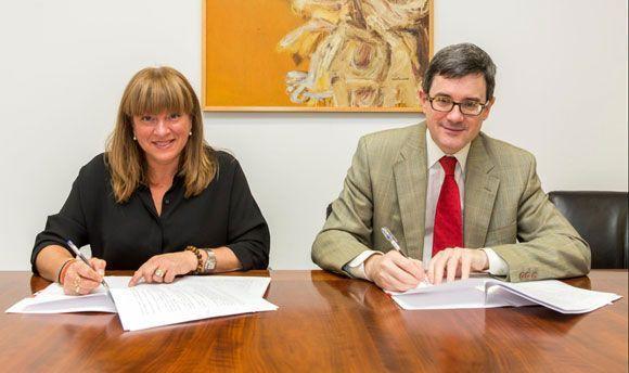 Ansme firma un acuerdo de colaboración con Educación del Gobierno de Navarra y se suma a la formación dual