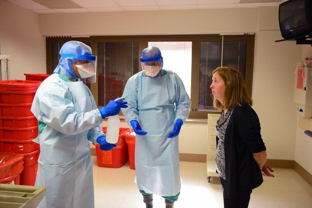 5 millones de euros para equipos de protección individual contra el Ébola