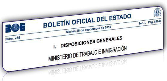 Publicación de la Orden que desarrolla el Real Decreto 39/1997 de Servicios de Prevención