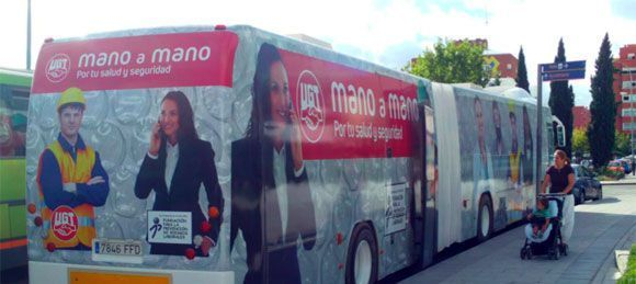 UGT se sube al autobus: Campaña de informativa sobre riesgos ergonómicos, psicosociales y vigilancia de la salud