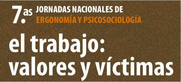 VII Jornadas Nacionales de Ergonomía y Psicosociología