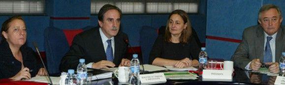 Valeriano Gómez destaca la reducción interanual del 12,3% en accidentes laborales