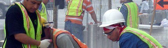 Nota informativa de la Inspección de Trabajo sobre el contenido de la formación en la construcción