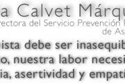 Entrevista a Silvia Calvet directora del Servicio de Prevención Propio de Asepeyo