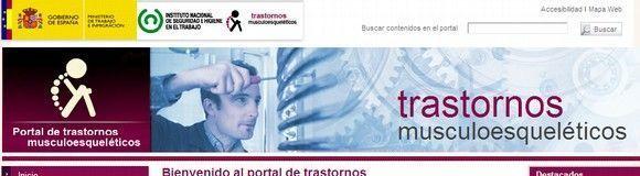 Portal de trastornos musculoesqueléticos del INSHT