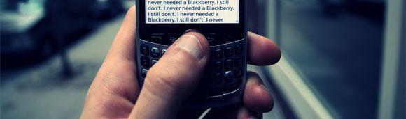 El Síndrome del Pulgar de la Blackberry