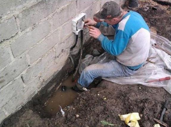 Foto de la semana: Electricidad y agua....malos compañeros