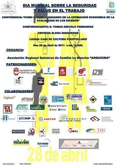 ARQUICMA organiza una conferencia para celebrar el Día Mundial sobre seguridad y salud en el trabajo