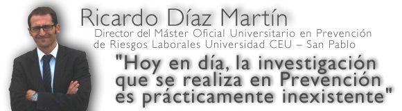 La formación universitaria en Prevención de Riesgos en la Universidad CEU - San Pablo