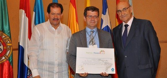 Asepeyo, distinguida con el premio Prevencia 2011