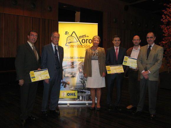 Metro Ligero Oeste recibe el premio a la Prevención de Riesgos Laborales en el Grupo OHL en la categoría de Gestión Preventiva