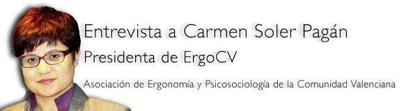 Carmen Soler: Presidenta de ErgoCV - Vídeo y entrevista
