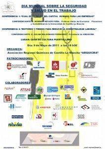 La Asociación Regional de Químicos de Castilla la Mancha (ARQUICMA) celebra el día mundial de la SST