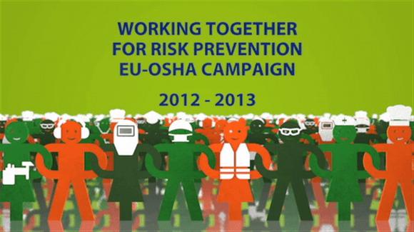 """Cincuenta y siete organizaciones y empresas europeas se adhieren a la campaña de la EU-OSHA """"Trabajando juntos para la prevención de riesgos"""""""