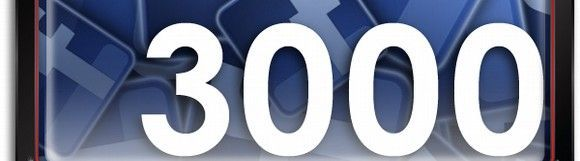 Prevencionar Facebook llega a los 3.000 amigos