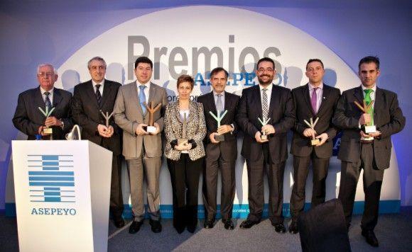 Asepeyo celebra sus premios a la mejor gestión en prevención