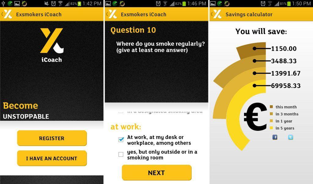 ICoach: App para dejar de fumar de la Comisión Europea