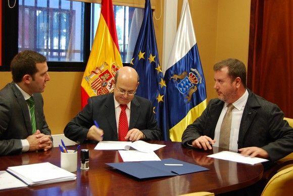 La Fgull, la ULL y la Sociedad de Prevención Fremap firmaron recientemente un ambicioso convenio de colaboración para el desarrollo de prácticas externas