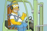 Simpsons & Prevención de Riesgos Laborales