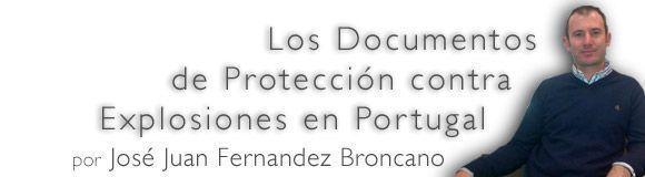 Documentos de Protección contra Explosiones en Portugal