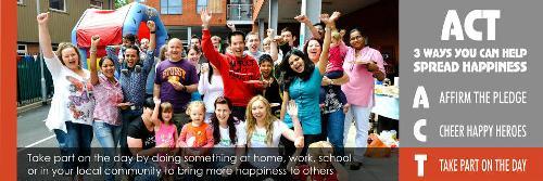 20N: Desde E- Saludable apoyamos el Dia de la Felicidad