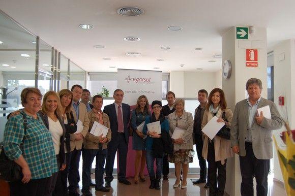 Egarsat reconoce la labor preventiva para las empresas mutualistas sin accidentes durante el 2012 #28PRL