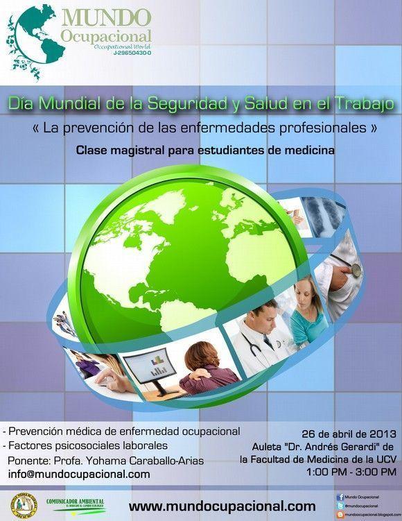 Mundo Ocupacional desde #Venezuela celebra el día Internacional de la Seguridad y Salud en el Trabajo #28PRL #28PRL
