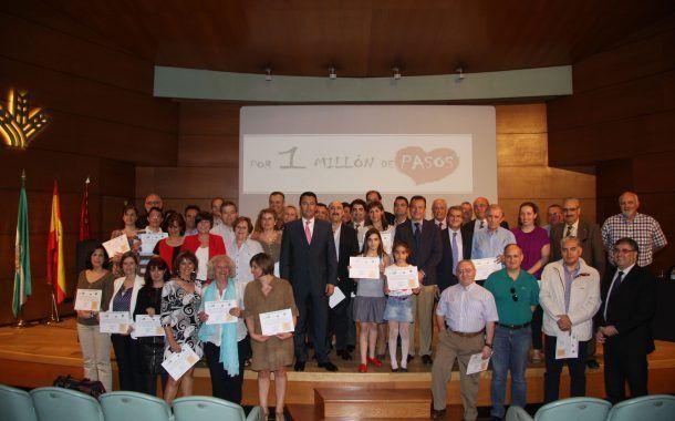 Caja Rural Granada da 1 millón de pasos hacia la salud