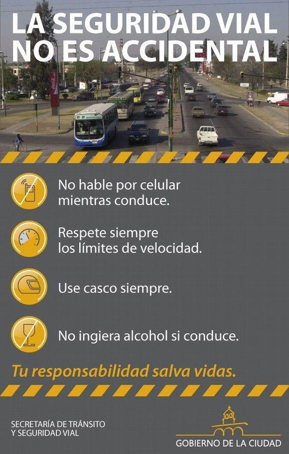 seguridad vial la seguridad vial no es accidental