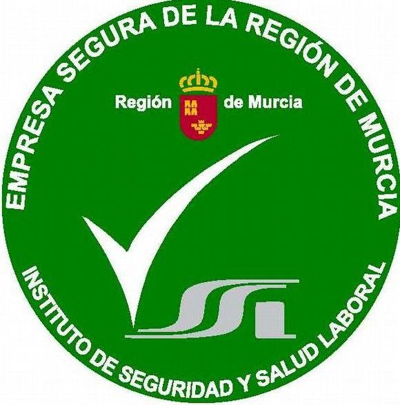 """El ISSL crea la marca distintiva """"Empresa Segura de la Región de Murcia"""""""
