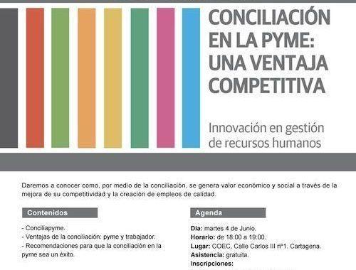 """Jornada """"Conciliación en la PYME: una ventaja competitiva"""""""