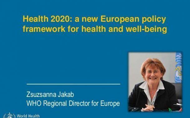 Health 2020: Un nuevo marco normativo para la salud y el bienestar