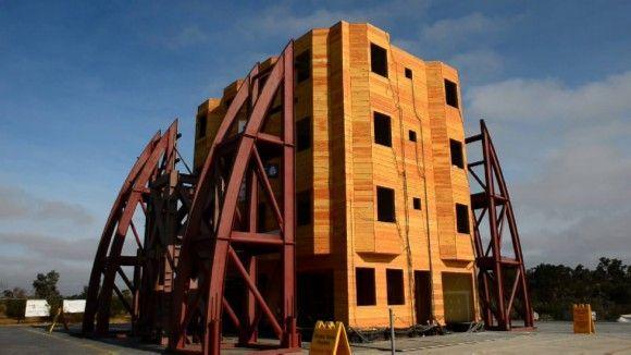 Un enorme simulador de terremotos ayudará a diseñar edificios