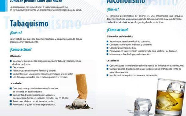Infografía: Tabaquismo y Alcoholismo