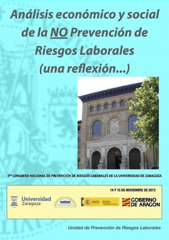 Tercer Congreso nacional de P.R.L. De la Universidad de Zaragoza
