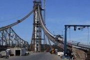 42.000 horas de construcción de un puente, en 4 minutos