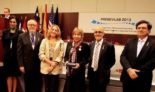 MTPE recibe premio internacional por prevención de riesgos laborales