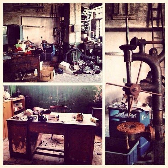 Antiguo taller abandonado