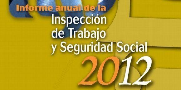 Informe anual de la Inspección de Trabajo (año 2012)