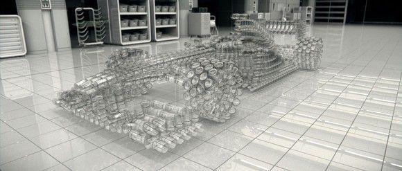 El coche de cristal: campaña contra el alcohol al volante de Johnnie Walker