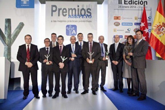 Asepeyo celebra la II Edición de los Premios a las Mejores Prácticas Preventivas