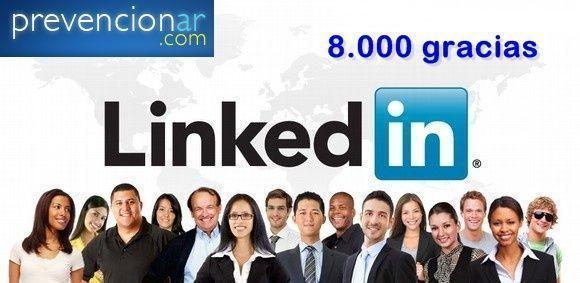 El Grupo Prevencionar en Linkedin supera los 8.000 miembros