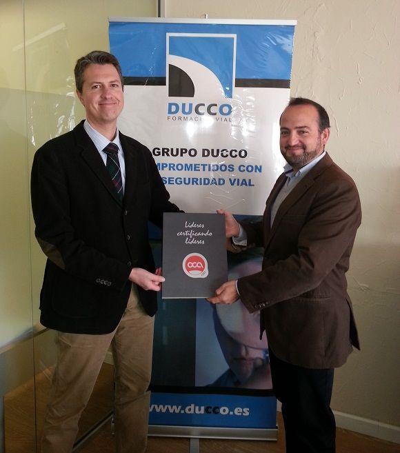 Ducco Formación primera entidad andaluza en conseguir la certificación ISO 39001 en Seguridad Vial