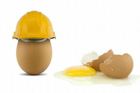 La prevención de riesgos laborales ¿es una cuestión de huevos?