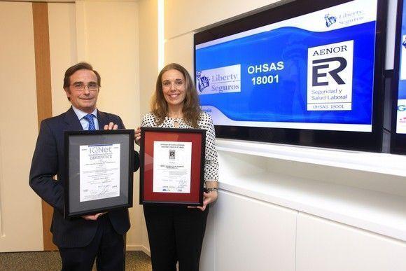 Liberty Seguros obtiene la certificación OHSAS 18001 por su gestión de la seguridad y salud en el trabajo