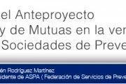 Artículo de Opinión sobre el Anteproyecto de Ley de Mutuas en la venta de sus sociedades de prevención