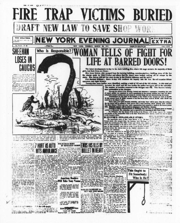 Portada del New York Evening Journal 1911